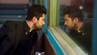 Review: After another wild fight scene, 'Preacher' keeps dragging its heels
