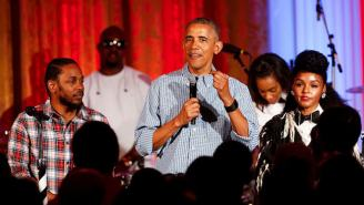 Watch President Obama, Kendrick Lamar And Janelle Monae Sing 'Happy Birthday' To Malia Obama