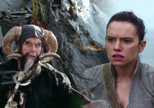 This Hilarious 'Star Wars'/ 'Holy Grail' Mashup Envisions Rey Finding The Wrong Man