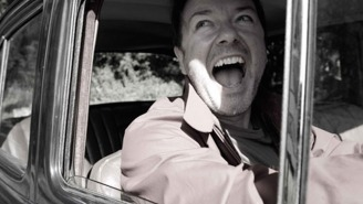 Behold the beauty of the Ricky Gervais love song 'Lady Gypsy'