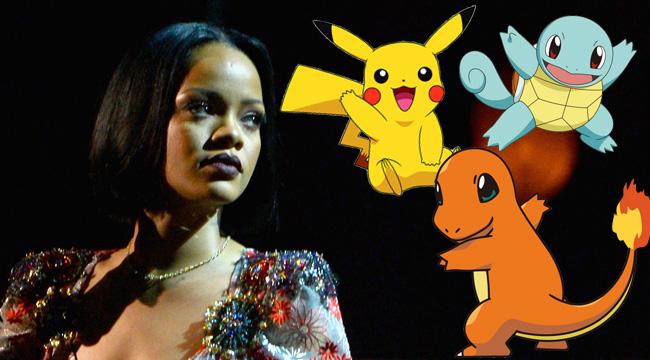 Rihanna-Pokemon-Go