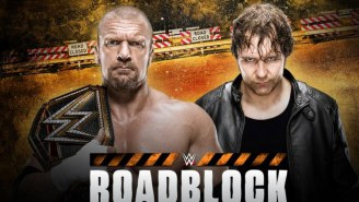 WWE Will Have A Second 'Roadblock' Pay-Per-View This Year, So Get Ready To Be Confused