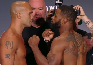 UFC 201 Results: Tyron Woodley Knocks Out Lawler To Become The Welterweight Champ