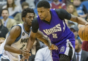 Rudy Gay Is So Detached From The Kings, He Doesn't Even Know Who They Picked Up This Summer