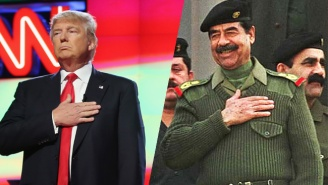 Trump Praises Saddam Hussein Over His Lack Of Respect For Due Process And Civil Liberties