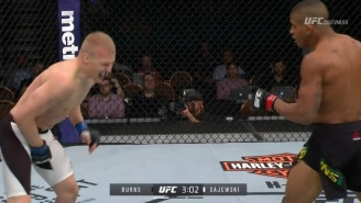Watch A Fighter Get Kicked Directly In The Genitals At UFC Fight Night 90