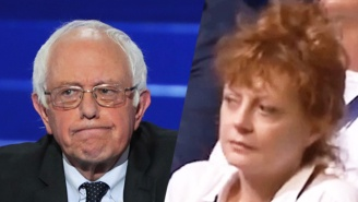 Susan Sarandon Confirms She 'Literally Had The Worst Time' Watching Sanders' DNC Speech