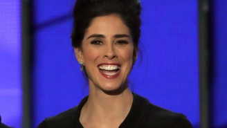 Sarah Silverman made 'Howard Stern Show' history at the DNC