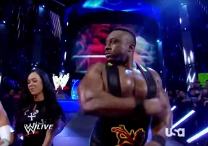 Big E Talks About Accidentally Hitting AJ Lee Before His WWE Debut Match