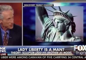 Fox News Takes A Moment To Consider Whether Lady Liberty Was Actually A Man