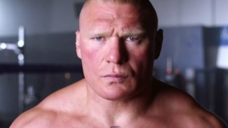 WWE And UFC Teamed Up For A Brock Lesnar Vs. Mark Hunt Hype Video And It Completely Rules