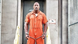The New 'Fast 8' Set Pic Shows The Rock In Prison Orange