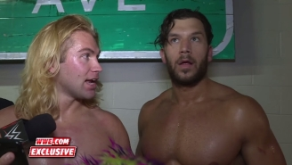 Tyler Breeze Failing To Explain 'Pokemon Go' To Fandango Might Be The WWE Backstage Interview Of The Year