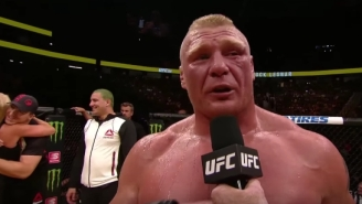 Brock Lesnar Is Still Under Contract To The UFC And Will Continue To Be Drug Tested