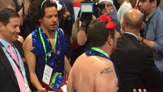 Eric Andre Continues To Cause Havoc At The RNC With A Little Help From Tim Heidecker