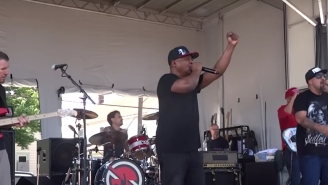 Prophets Of Rage Kick Off Their Battle Of Cleveland In The Shadow Of The RNC