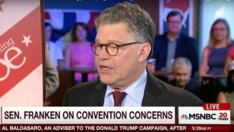 Al Franken Gets Booed By A Cleveland Crowd After Joking About The 'Ugly' City