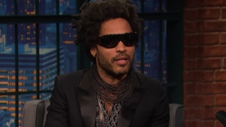 Lenny Kravitz Told Seth Meyers About His Long-Lasting Friendship With Bill Clinton