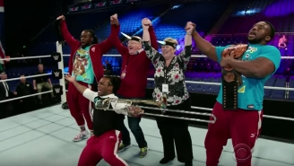 James Corden Sent His Kindly, Confused Parents To WWE Raw