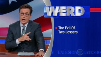 Stephen Colbert Finds Out He No Longer Has The Rights To Use 'Stephen Colbert'