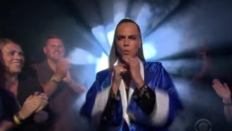 Cara Delevingne Dominates A Rap Battle Using The Most Awesomely Brazen Line