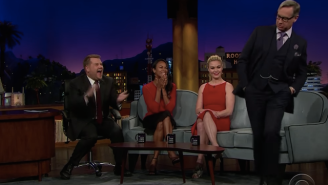 Paul Feig recreates 'Ski Patrol' dance on 'The Late Show with James Corden'