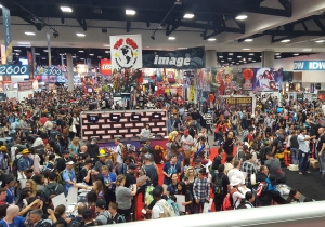 Was it just us or did San Diego Comic-Con feel less frenetic this year? – She Said, She Said