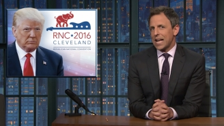 Seth Meyers Takes 'A Closer Look' At The RNC's Rocky Start