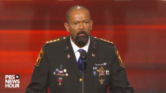 Milwaukee Sheriff David Clarke At The Republican Convention: 'Blue Lives Matter In America'