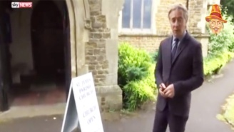 Sky News' Terrorism Report On The French Church Attack Plays Like A Parody