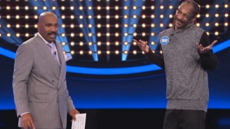 Snoop Dogg Gave A Very Questionable Answer About A Horse On 'Family Feud' Fast Money