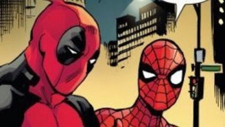 Spider-Man And Deadpool Mock 'Batman V Superman' In Their Latest Comic