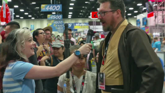 We asked 'Star Wars' cosplayers the ultimate question: Who is their fav 'Star Trek' character?