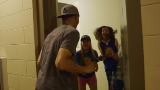 Steph Curry Had These Campers In Hysterics When He Surprised Them With A Promise Of Cookies