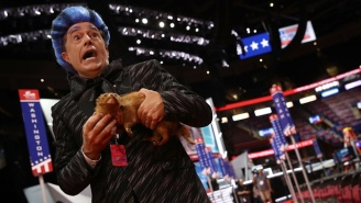 Stephen Colbert Crashes The RNC Stage And Executes An Anti-Trump Burn