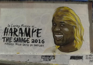The Taylor Swift 'RIP' Mural Received An Unofficial Kanye West Update