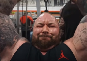 The Mountain From 'Game Of Thrones' Crushing, Extreme Workout Will Put Hair On Your Chest