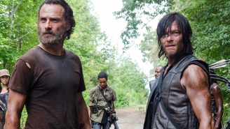 Pretty 'Dead': Norman Reedus glitterbombs Andrew Lincoln