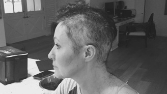 Shannen Doherty Shared Photos Of Her Shaved Head As She Fights Breast Cancer
