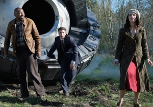 Comic-Con: 'Timeless' stars on the ambitions and the guts of sending a black guy back in time