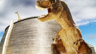 A Life-Sized Replica Of Noah's Ark Set To Open In Kentucky Features Dinosaurs In Cages, Because Why Not