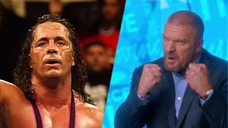 Bret Hart Claims Triple H 'Could Never Lace My F*cking Boots Up' As A Wrestler