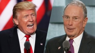 Trump Unleashes A Twitter Attack On 'Little' Mike Bloomberg, Who He Previously Praised