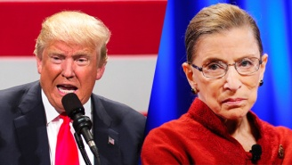 Trump Ups The Ante In His Attacks On Ruth Bader Ginsburg, Claims 'Her Mind Is Shot'