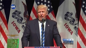 Watch Donald Trump Express His Desire To 'Hit' DNC Speakers Who Got Under His Skin