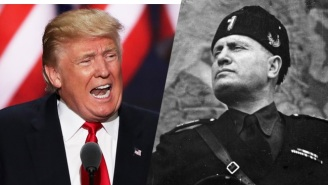 An Old Newsreel Shows Benito Mussolini Telling Immigrants To 'Make America Great'