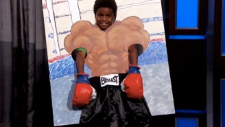 An Adorable Third Grader Paid Tribute To Mike Tyson For His 50th Birthday On 'Jimmy Kimmel Live'