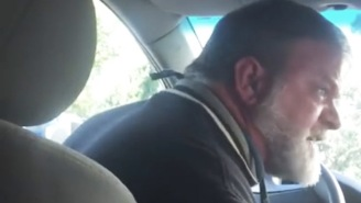 Is This Uber Driver Justified By Screaming At A Passenger Who Won't Get Out Of His Car?