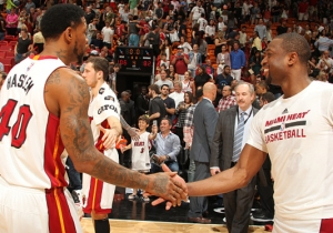 Udonis Haslem Wishes He Would've 'Handcuffed' Dwyane Wade So He Couldn't Leave The Heat