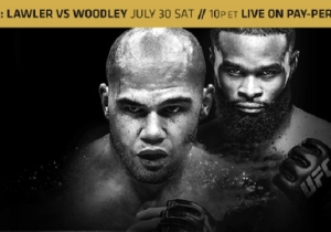 UFC 201 Keys To Victory: How Can Robbie Retain Or Will Woodley Win?